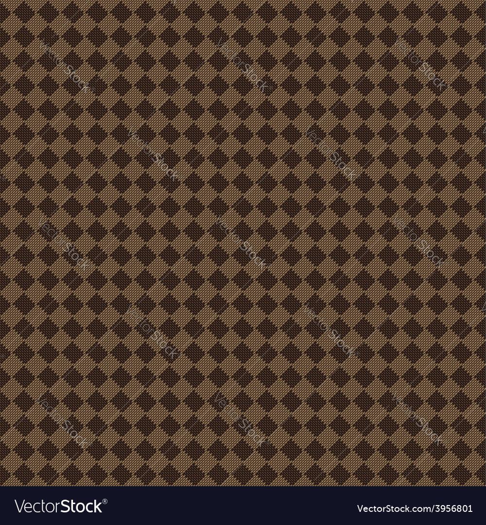 Diagonal brown beige seamless fabric texture vector | Price: 1 Credit (USD $1)
