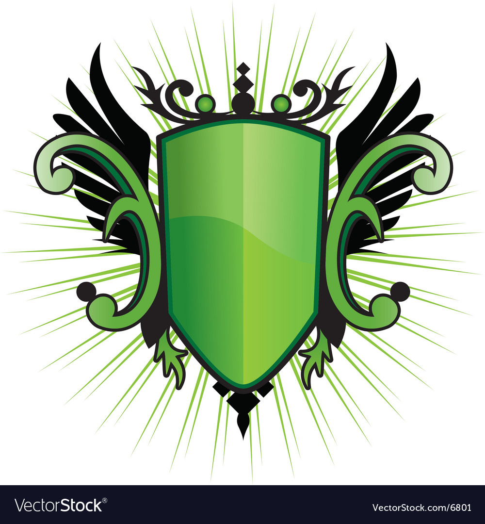 Green herald vector | Price: 1 Credit (USD $1)