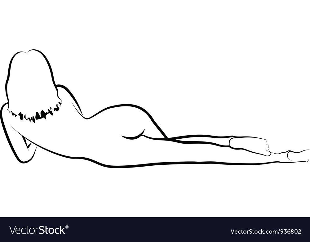 Nude vector | Price: 1 Credit (USD $1)