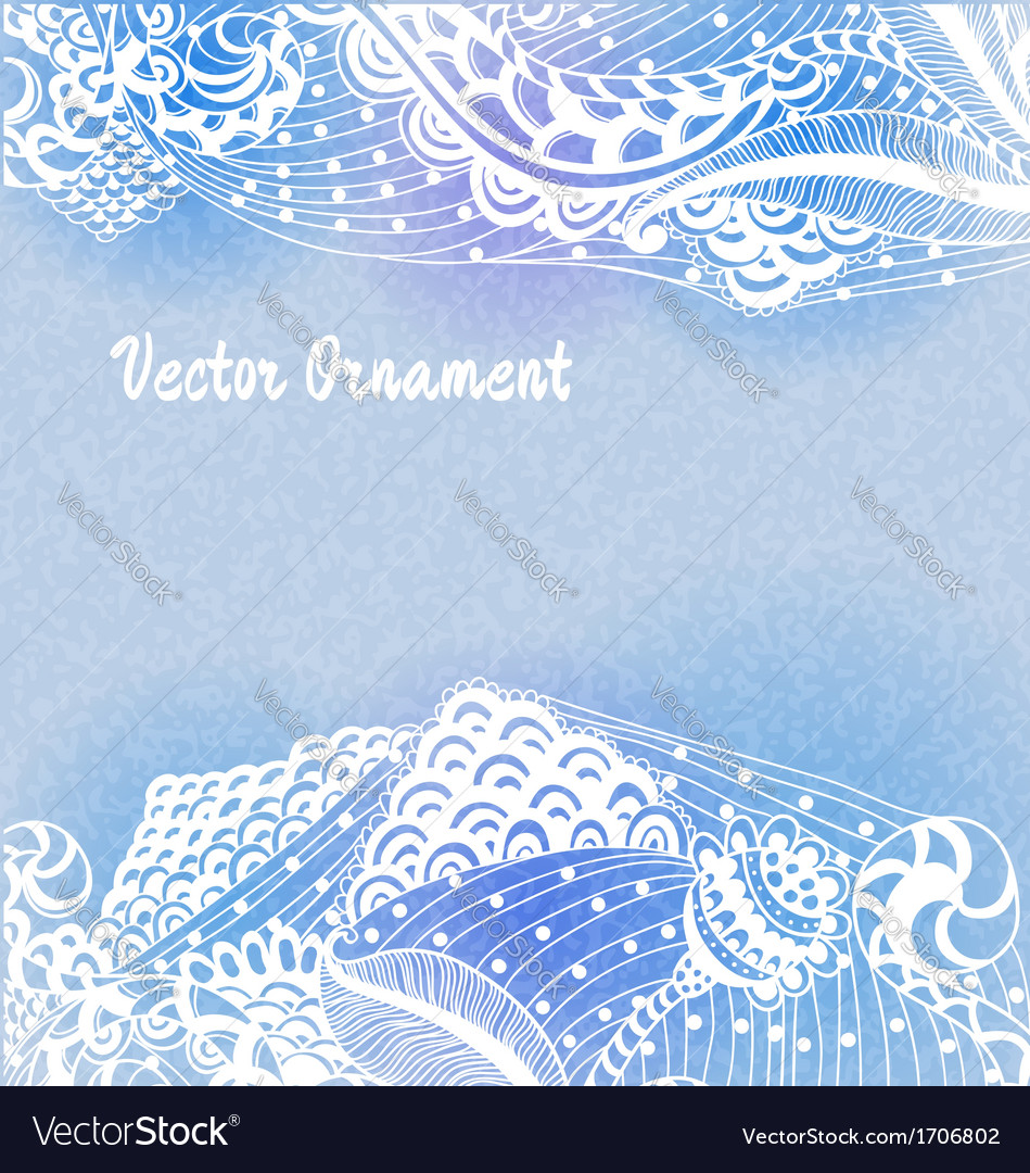 Ornaments hand-drawn vector | Price: 1 Credit (USD $1)