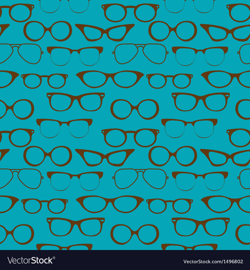 Seamless glasses vector | Price: 1 Credit (USD $1)