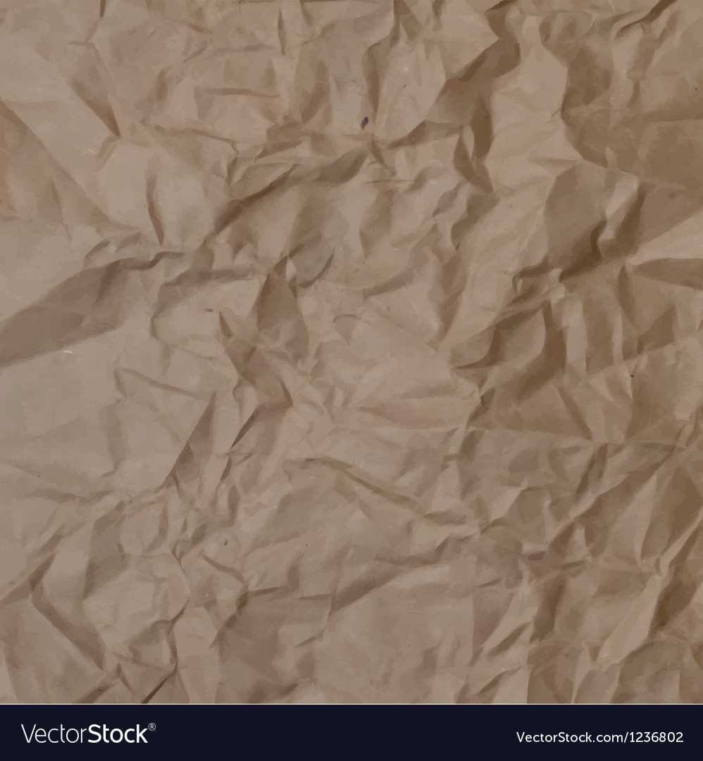 Texture of crumpled paper vector | Price: 1 Credit (USD $1)