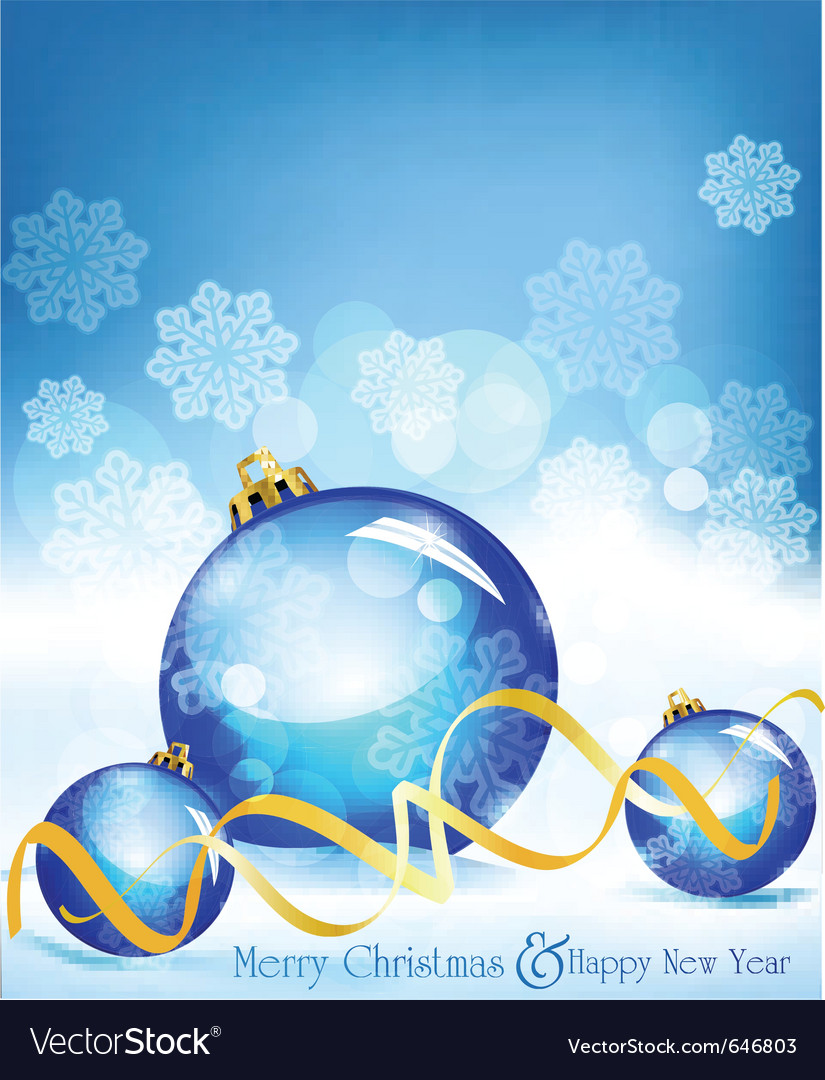 Holiday blue background vector | Price: 1 Credit (USD $1)