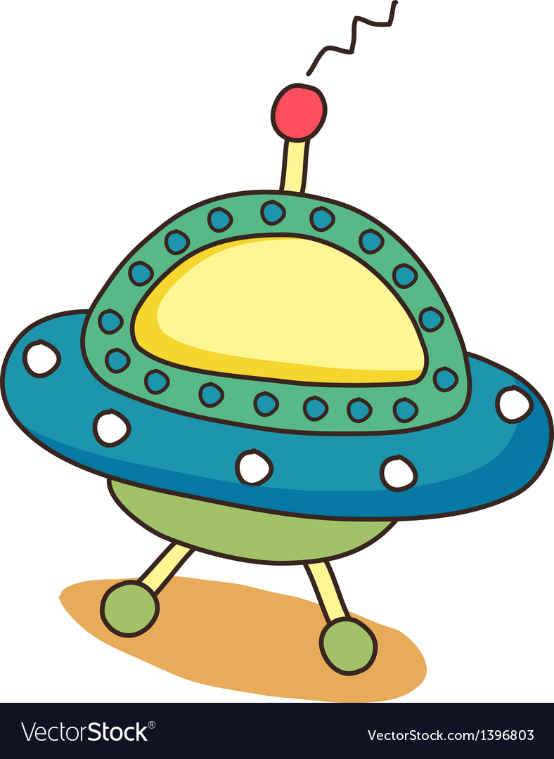 Icon space ship vector | Price: 1 Credit (USD $1)