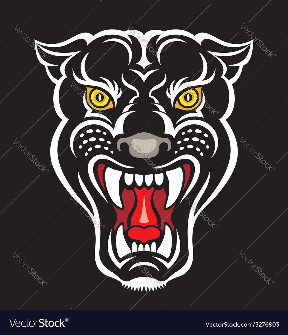 Panther - print vector | Price: 1 Credit (USD $1)