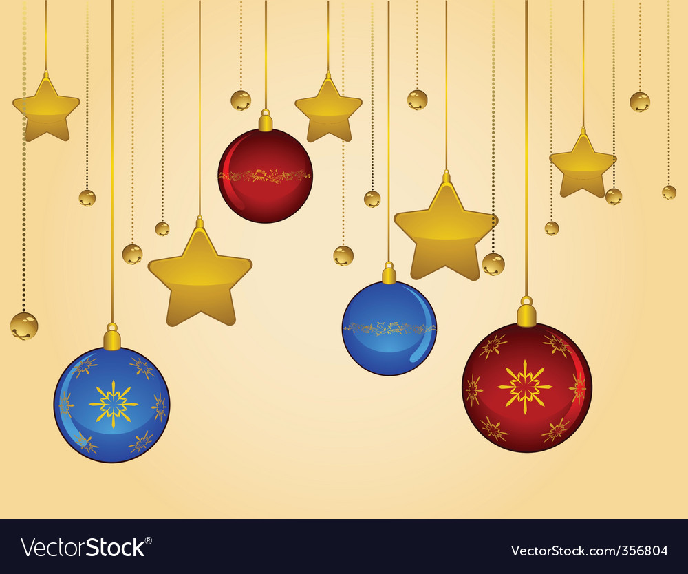 Christmas decorations vector   Price: 1 Credit (USD $1)