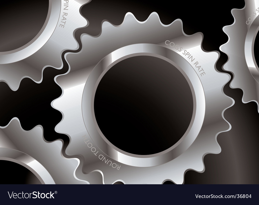 Cog connect vector | Price: 1 Credit (USD $1)