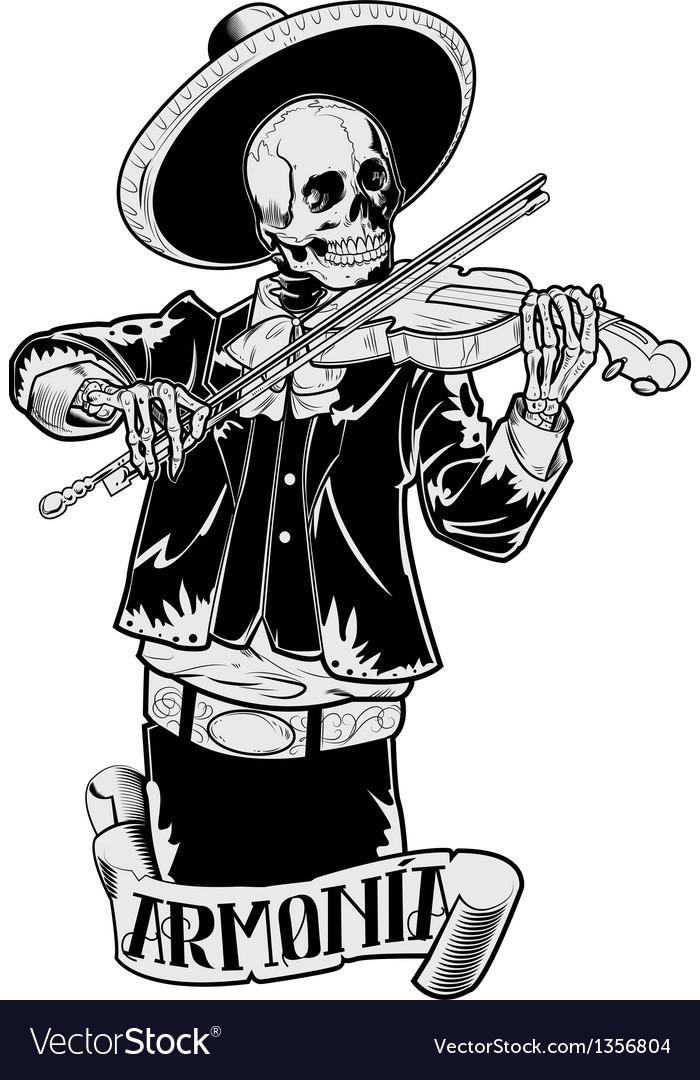 El mariachi 03 vector | Price: 5 Credit (USD $5)