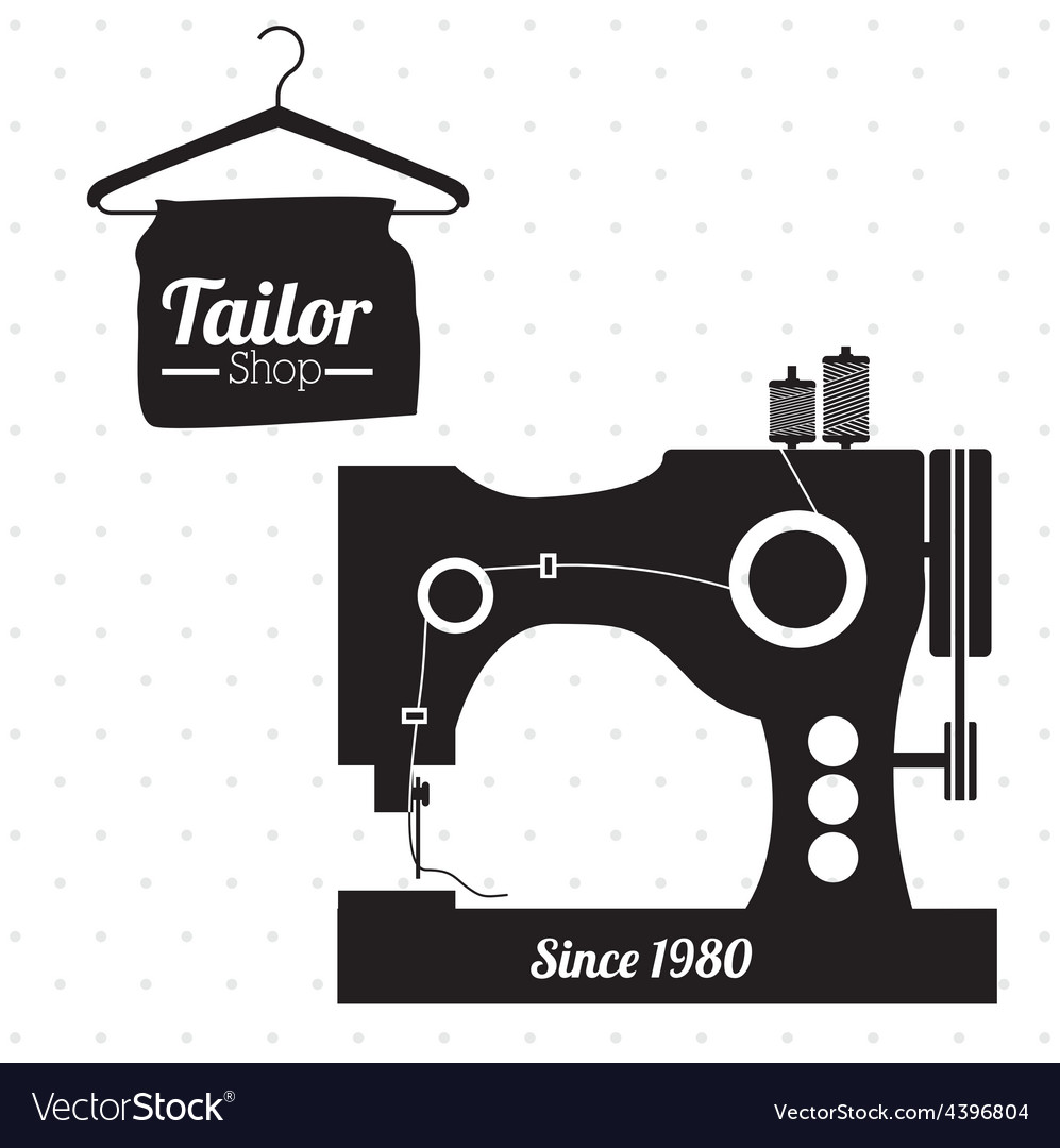 Tailor shop design vector | Price: 1 Credit (USD $1)