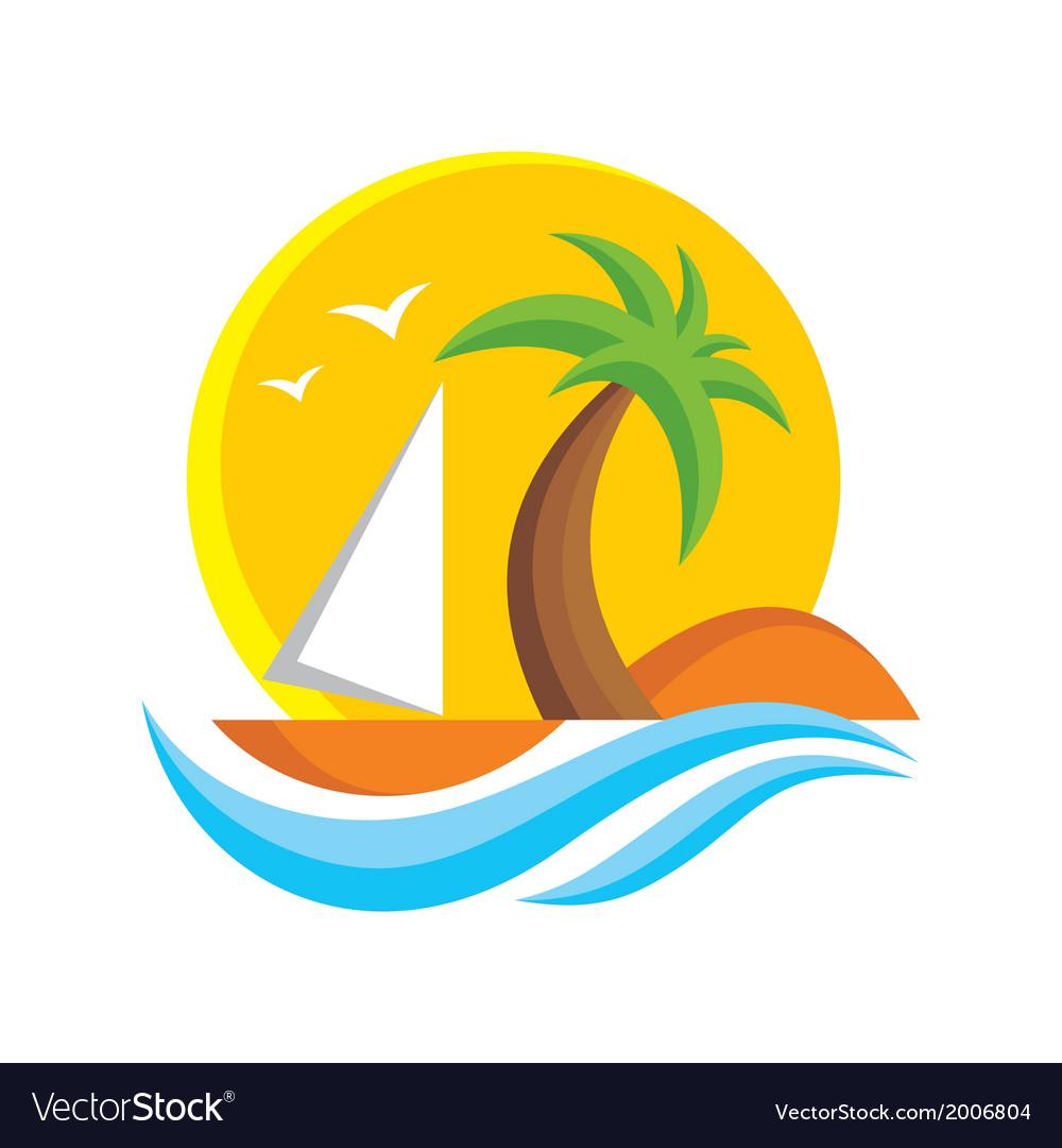Travel logo sign vector   Price: 1 Credit (USD $1)