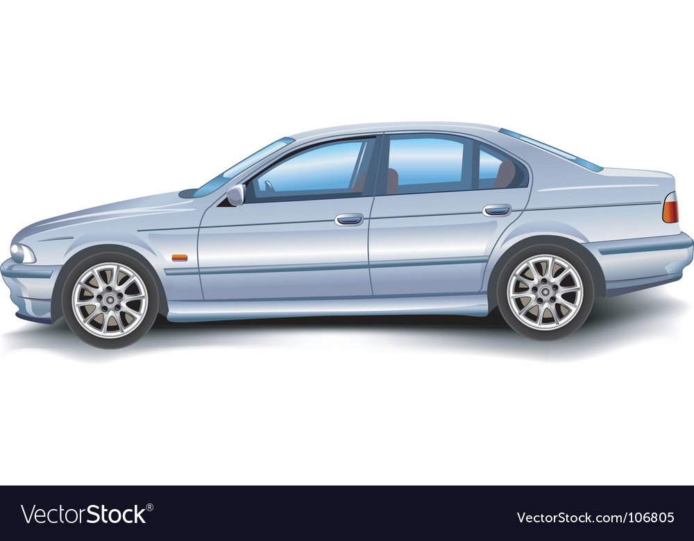 Bmw car vector | Price: 3 Credit (USD $3)