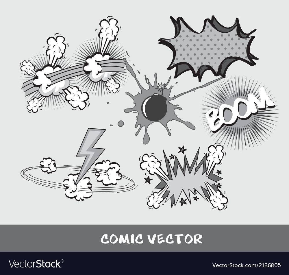 Comic vector | Price: 1 Credit (USD $1)