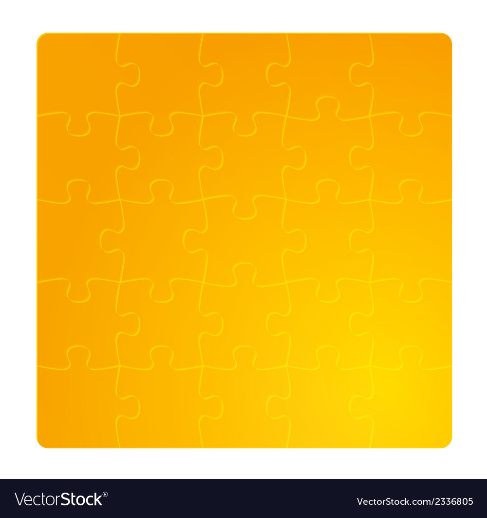 Gradient gold field of puzzles vector | Price: 1 Credit (USD $1)