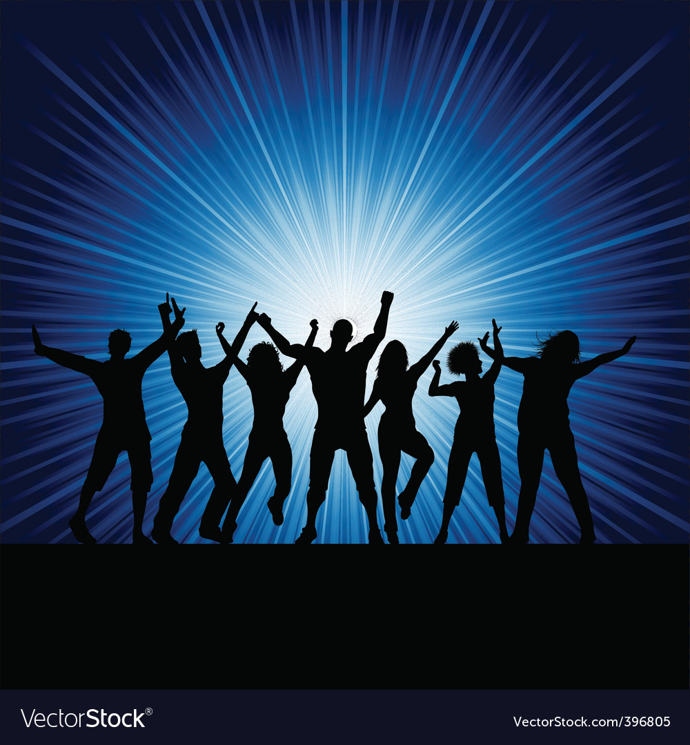 Party people vector | Price: 1 Credit (USD $1)