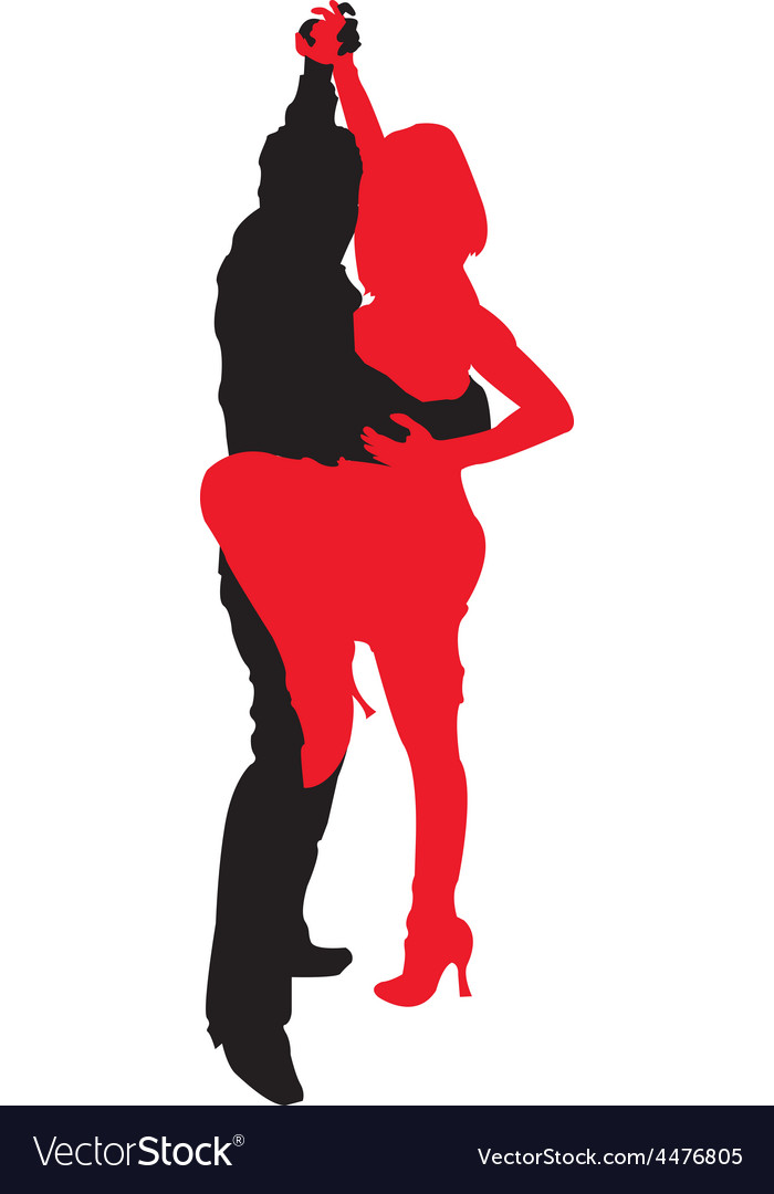 Tango dancing vector   Price: 1 Credit (USD $1)