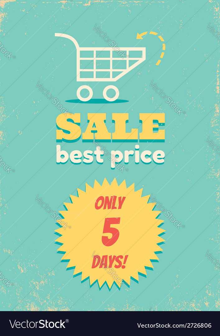 Best price shopping cart vector | Price: 1 Credit (USD $1)