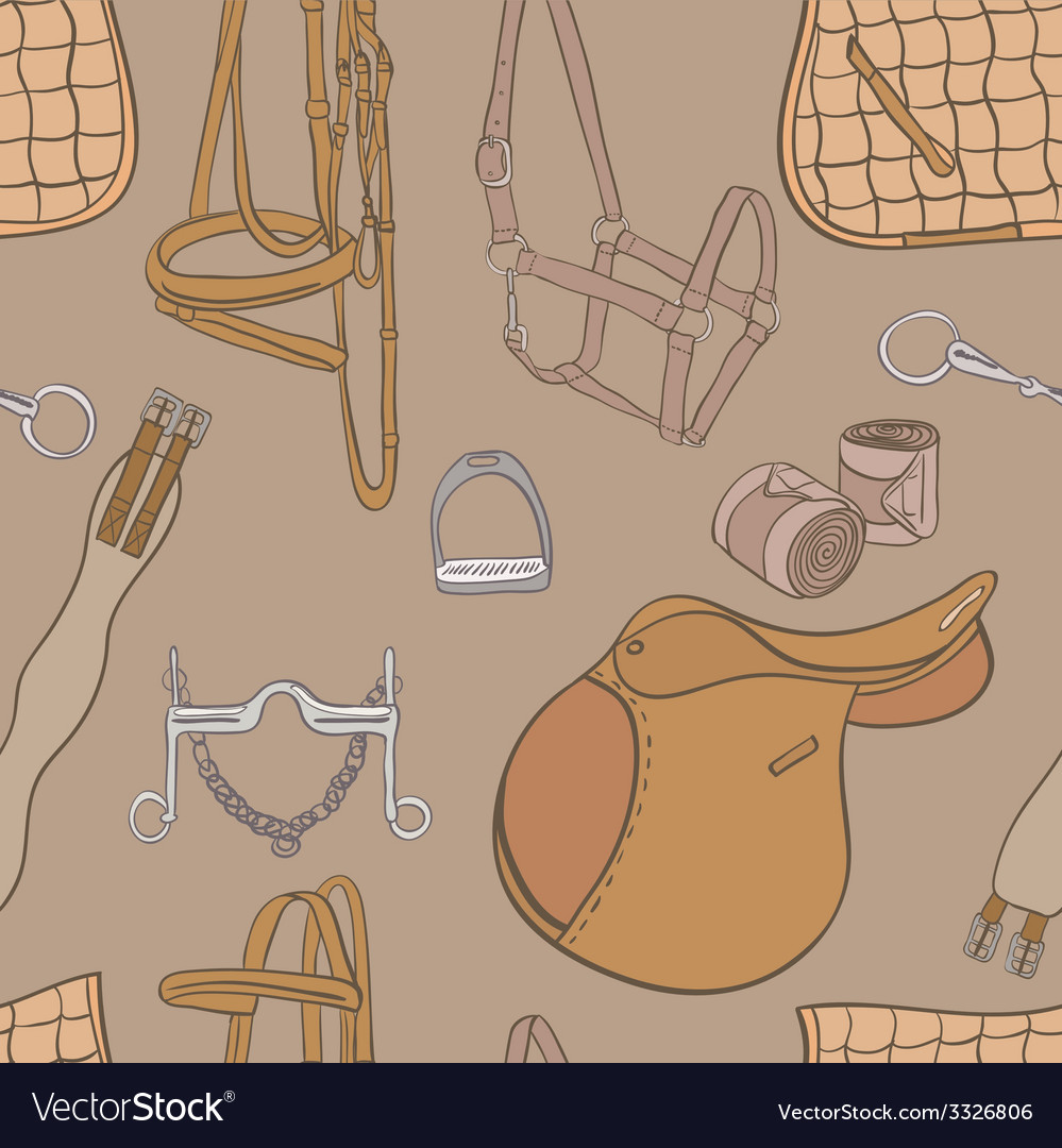 Equestrianpattern vector | Price: 1 Credit (USD $1)