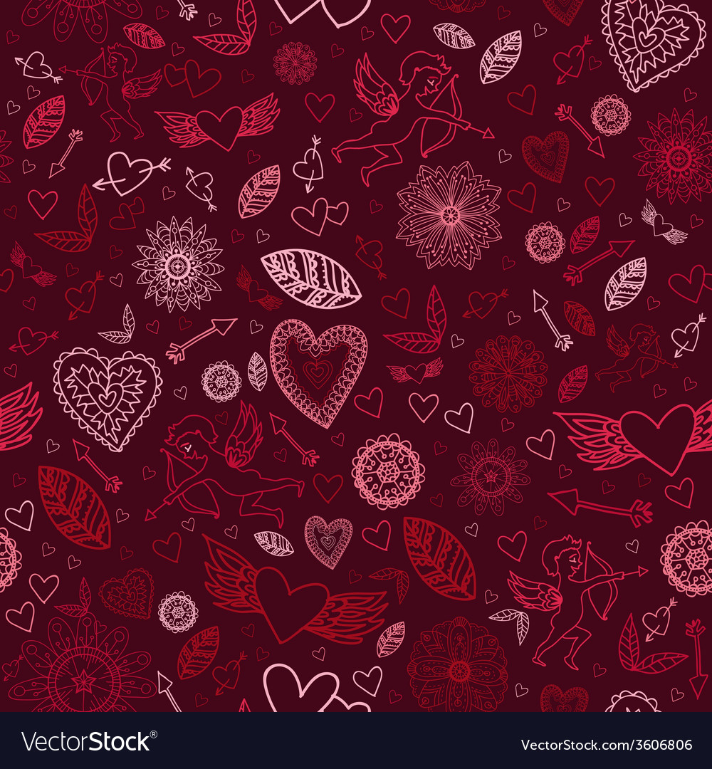 Happy valentines signs on the black background vector | Price: 1 Credit (USD $1)