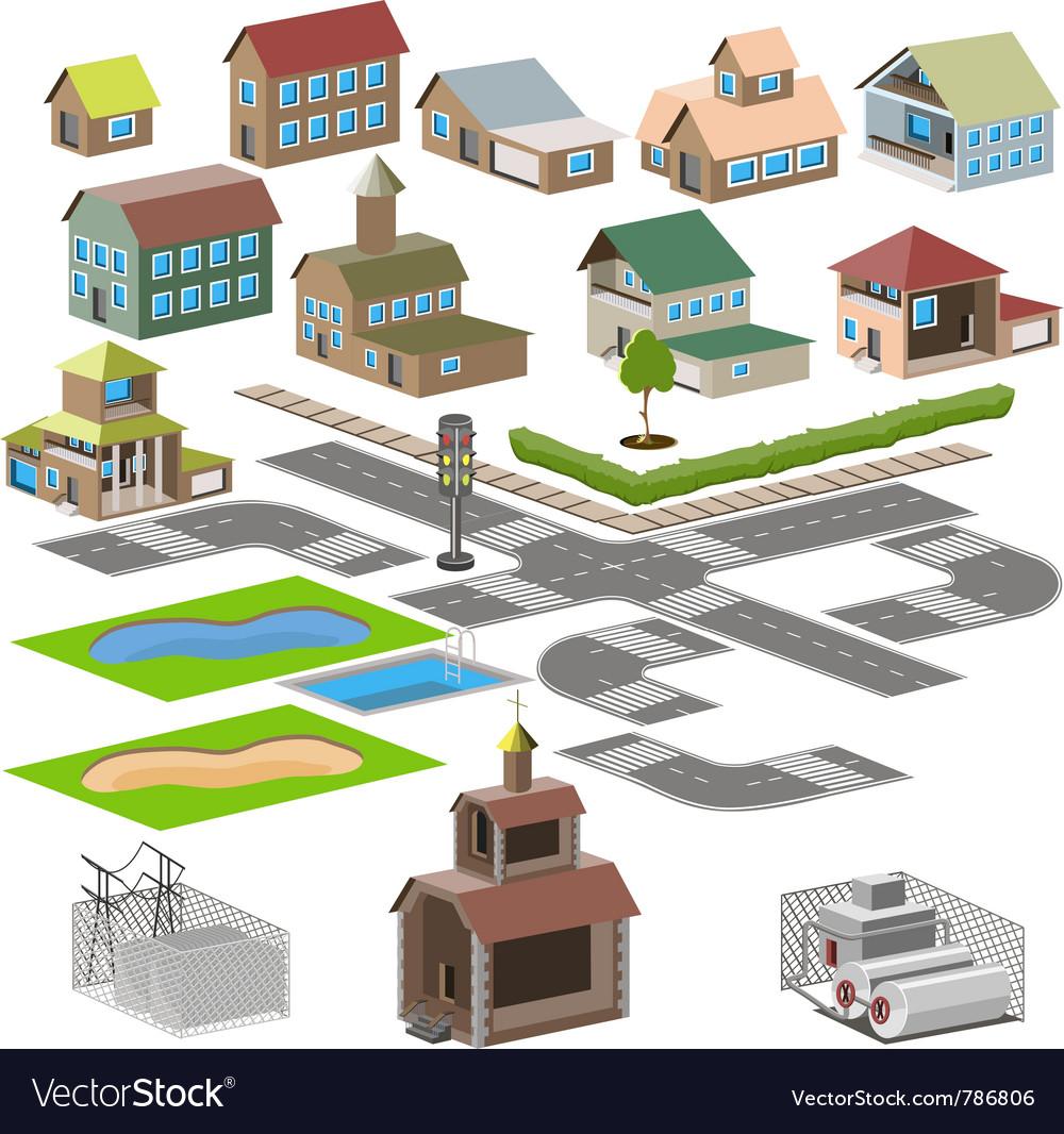 Neighborhood vector | Price: 3 Credit (USD $3)