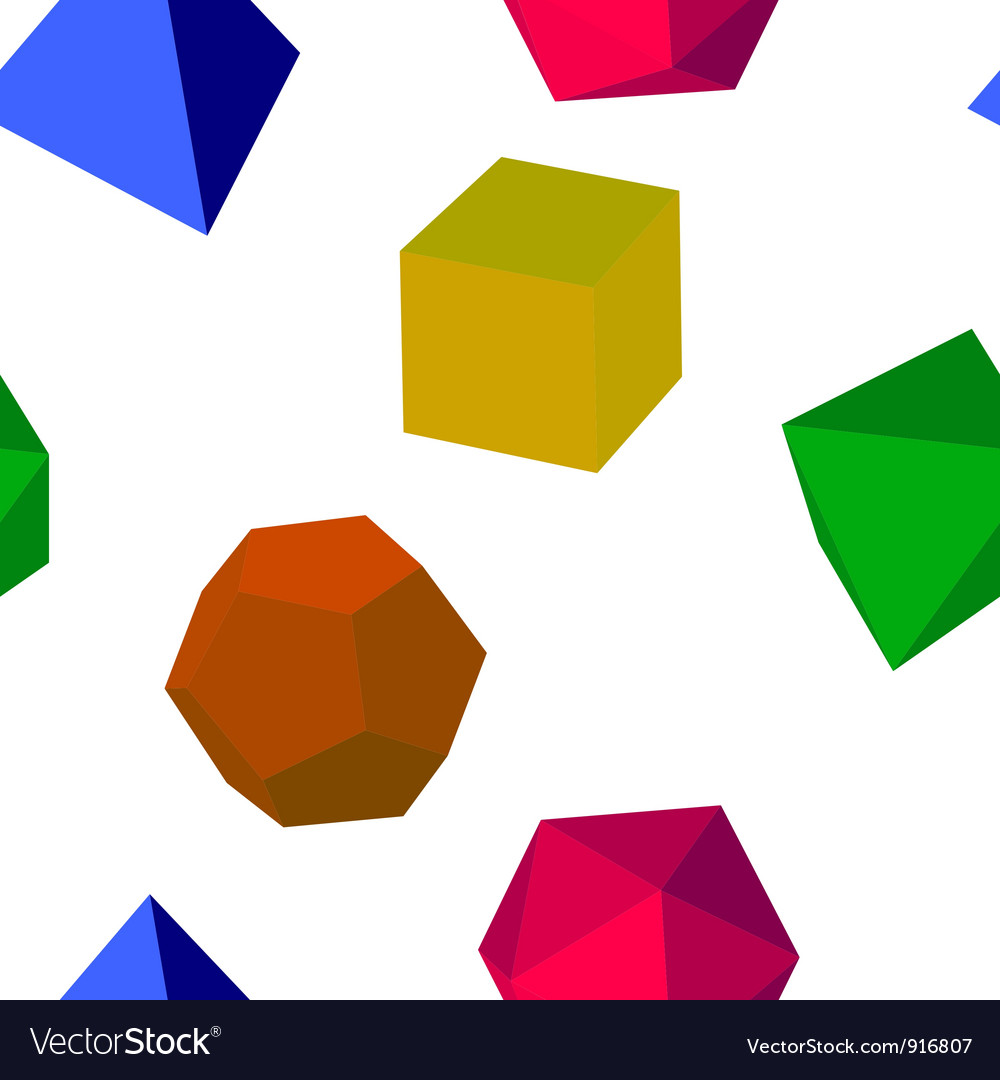 3d colorfull geometric shapes vector | Price: 1 Credit (USD $1)