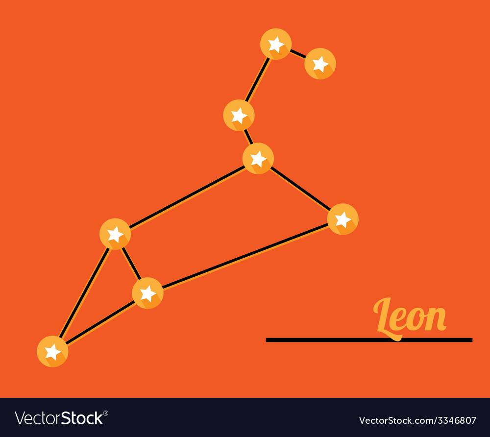 Constellation leon vector | Price: 1 Credit (USD $1)
