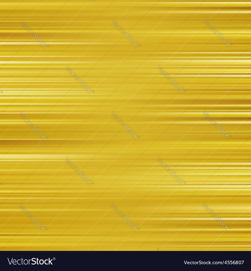 Gold waves background metal plate with reflected vector | Price: 1 Credit (USD $1)