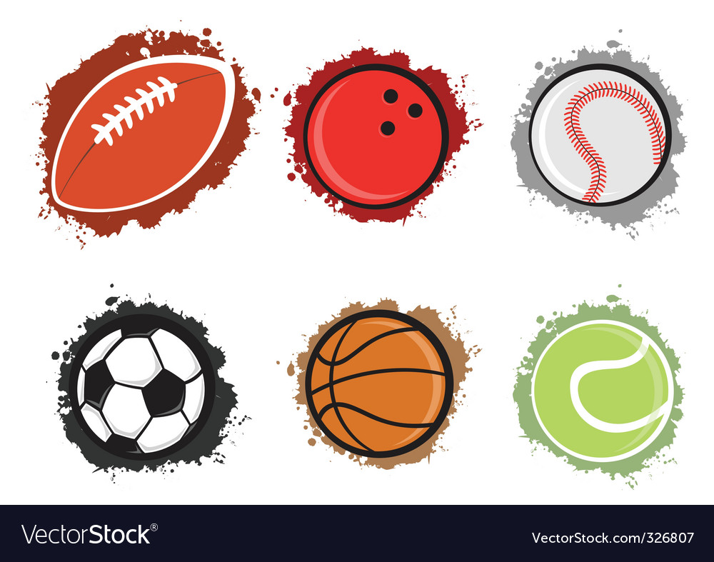 Sport balls vector | Price: 1 Credit (USD $1)