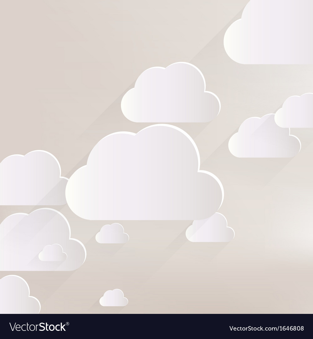 Cloud application web icon vector | Price: 1 Credit (USD $1)