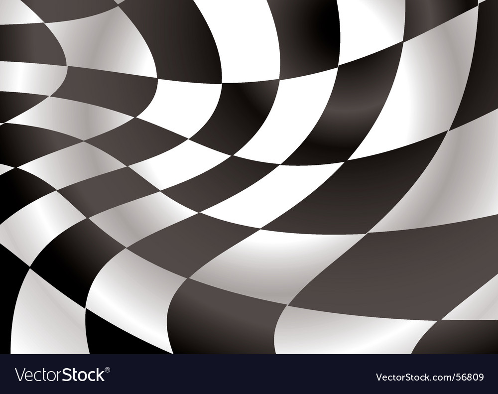 Checkered flap vector | Price: 1 Credit (USD $1)