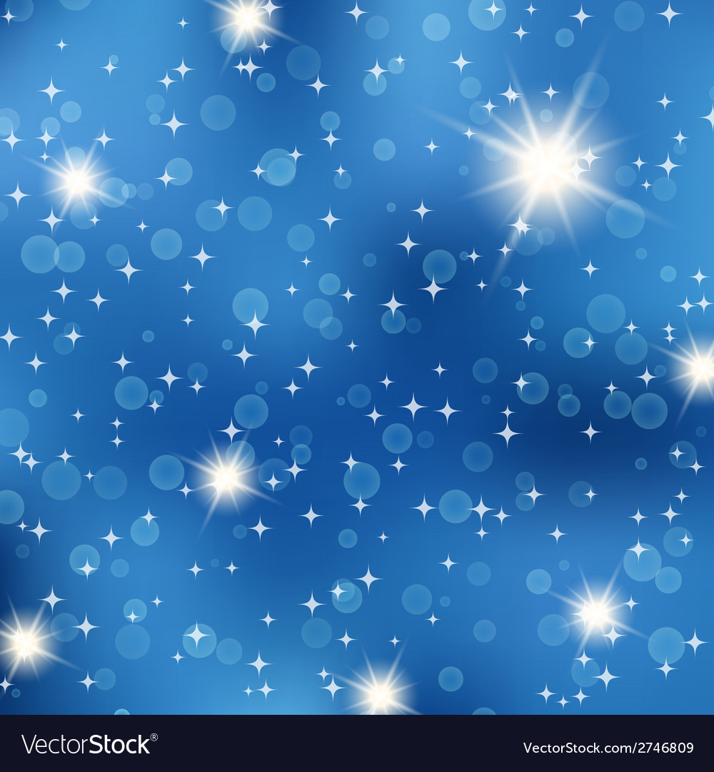 Starry night abstract background vector | Price: 1 Credit (USD $1)