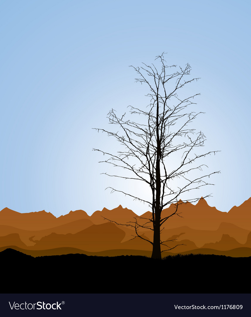 Tree trunk vector | Price: 1 Credit (USD $1)