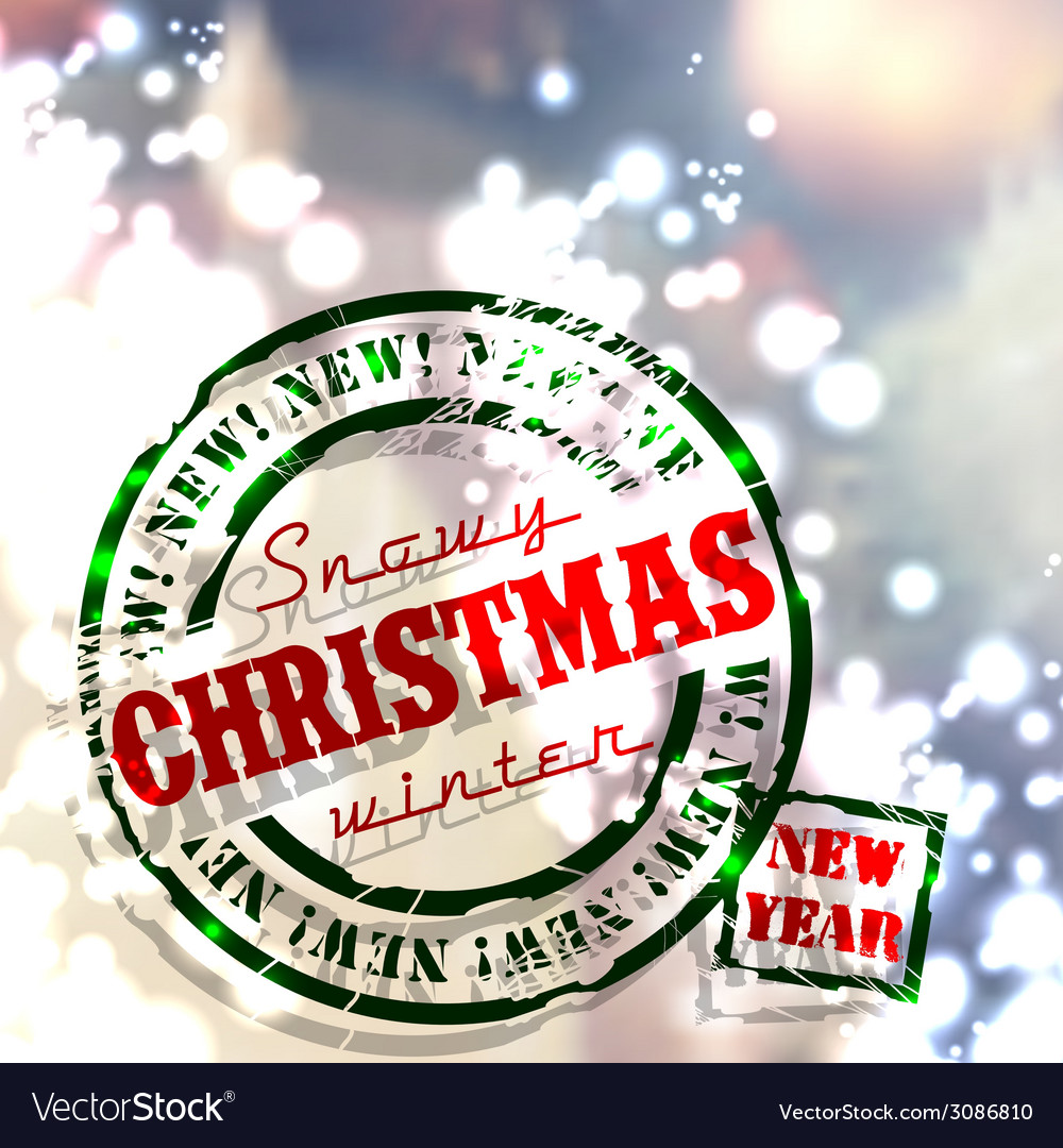 Christmas emblems and designs vector | Price: 1 Credit (USD $1)