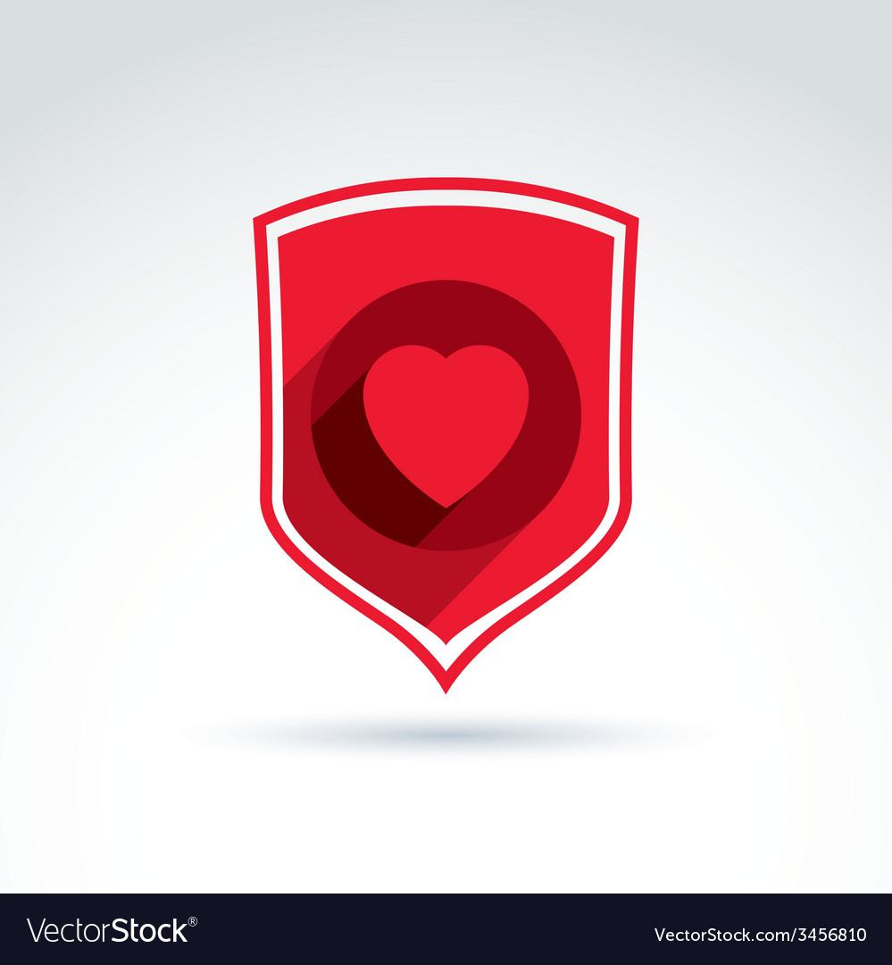 Health and life defending conceptual symbol icon vector | Price: 1 Credit (USD $1)