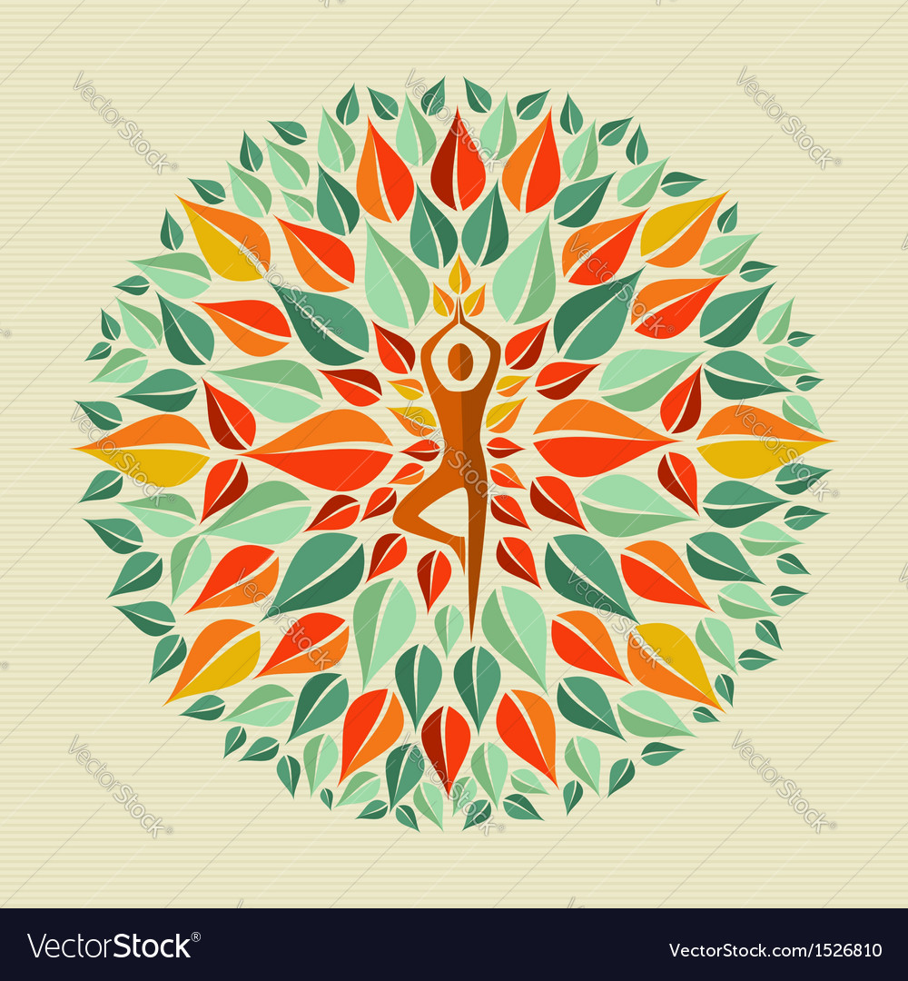 India yoga mandala vector | Price: 1 Credit (USD $1)