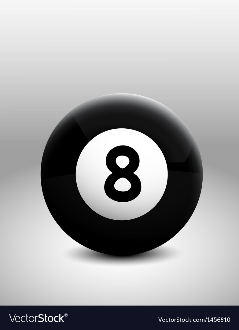 Number 8 ball vector   Price: 1 Credit (USD $1)