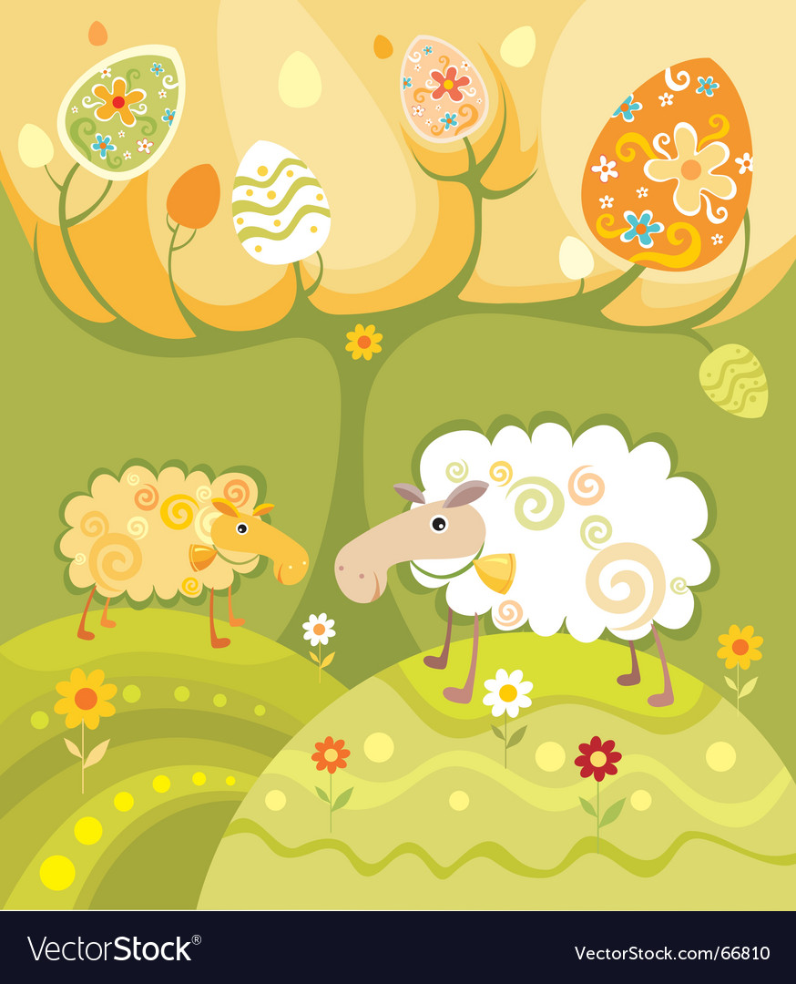 Sheep illustration vector | Price: 1 Credit (USD $1)