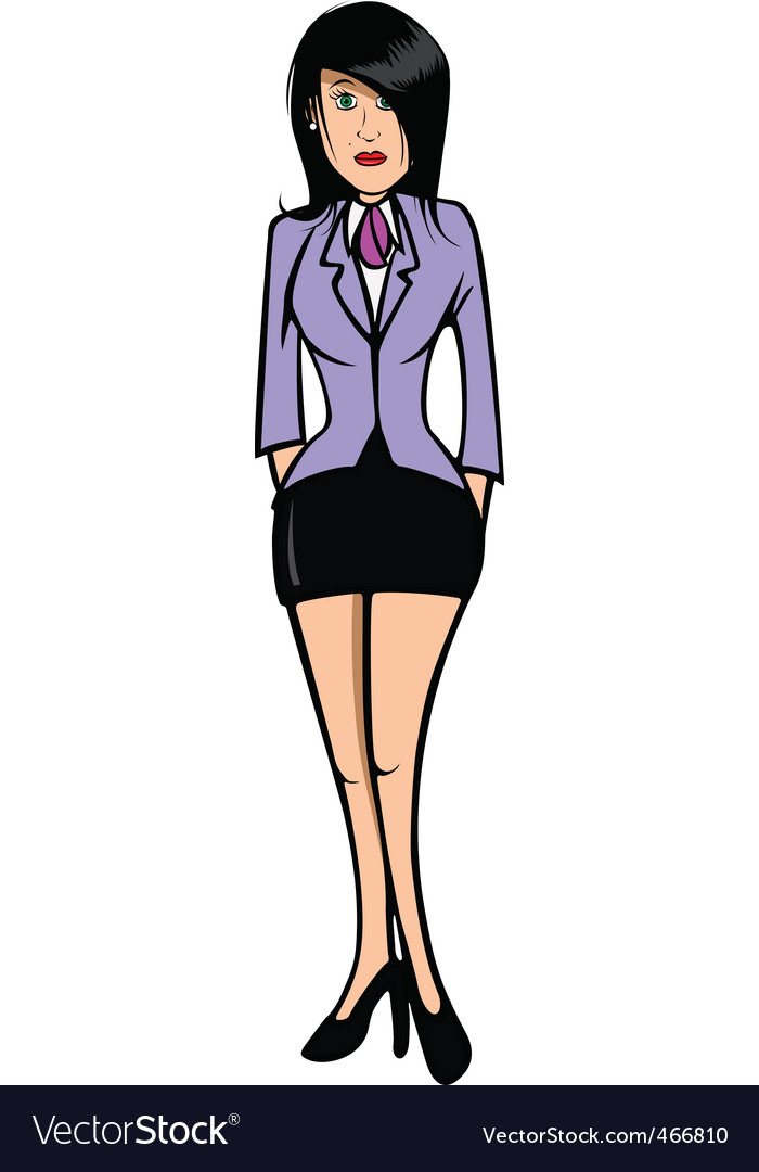 Stewardess 2 vector | Price: 1 Credit (USD $1)