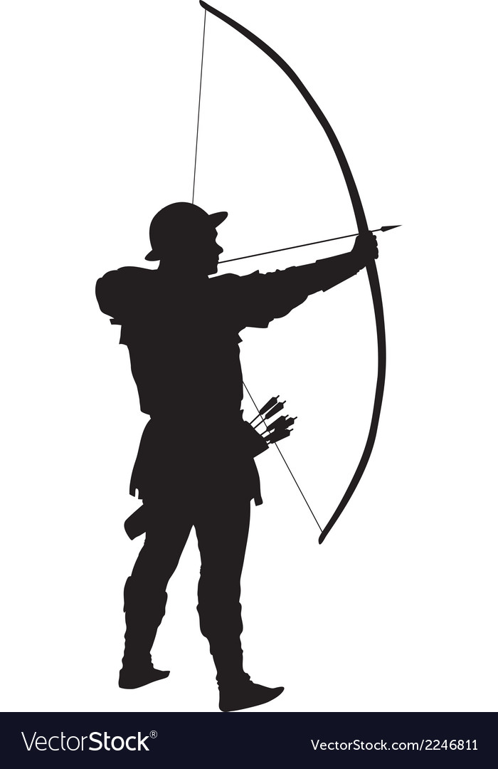 Archer warriors theme vector | Price: 1 Credit (USD $1)
