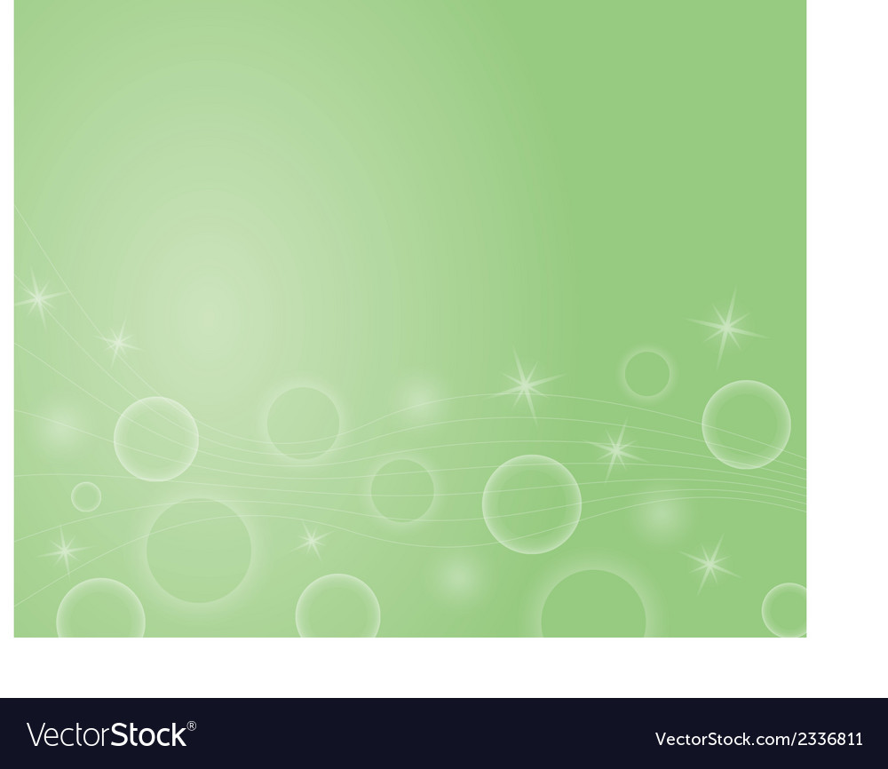 Background with stars ball and lines vector | Price: 1 Credit (USD $1)