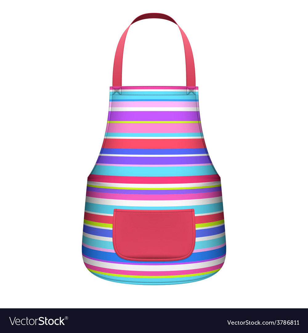 Kitchen apron vector | Price: 1 Credit (USD $1)