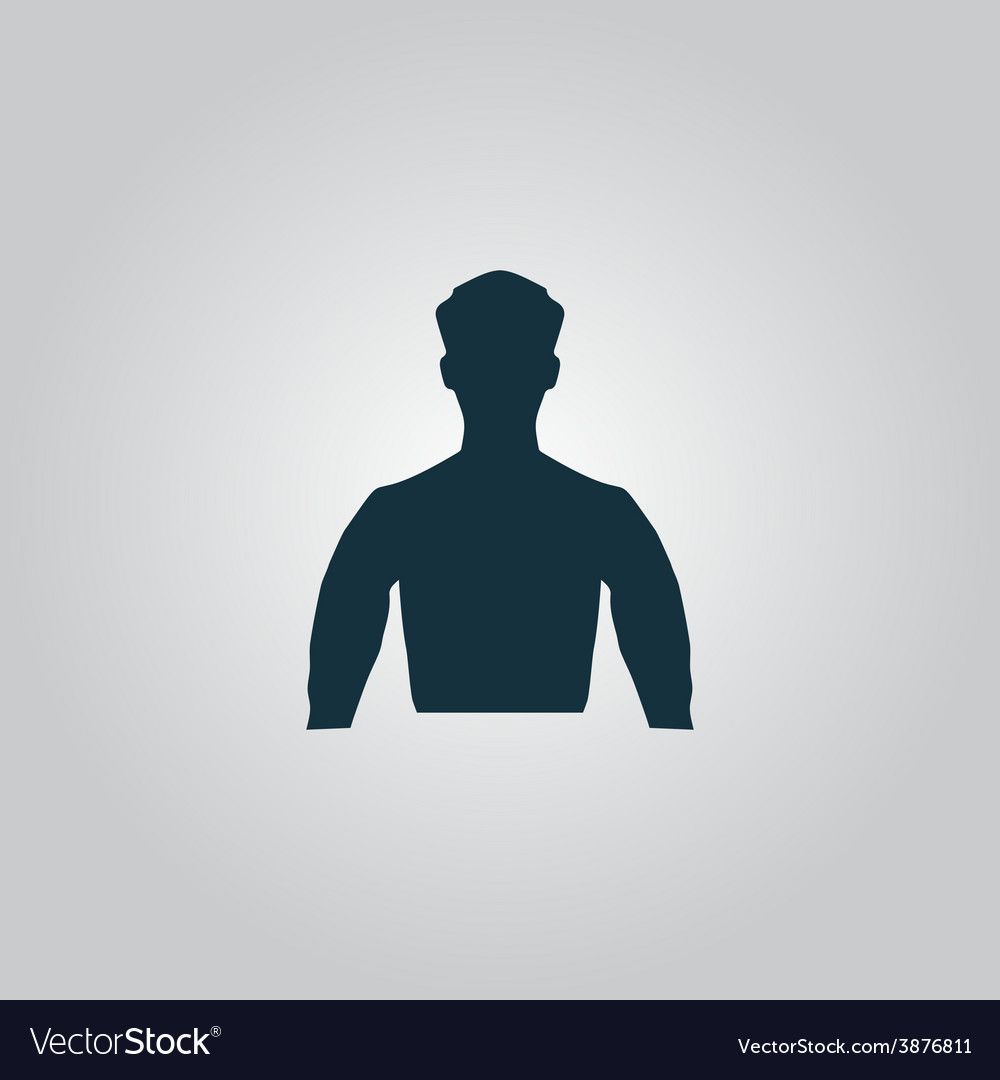 Silhouette man vector | Price: 1 Credit (USD $1)