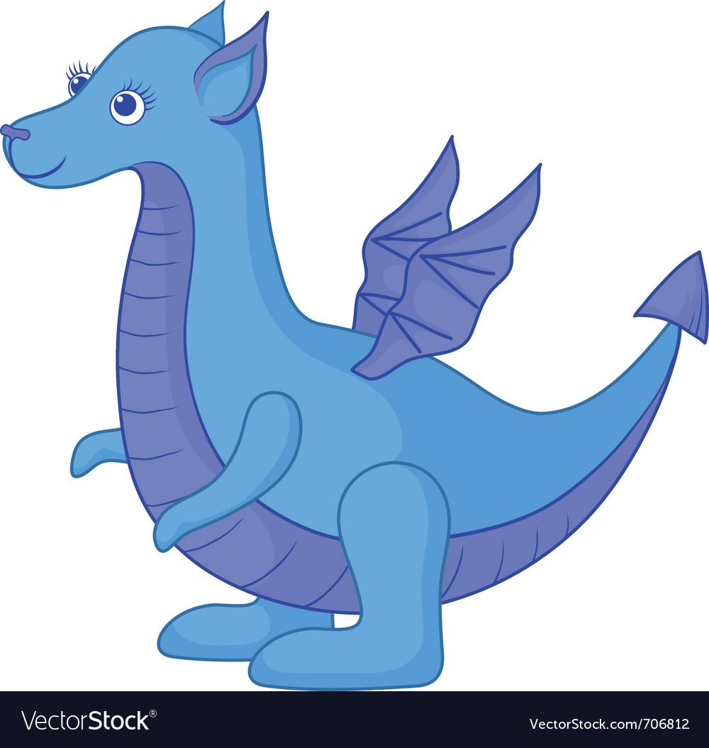 Dragon symbol vector | Price: 3 Credit (USD $3)