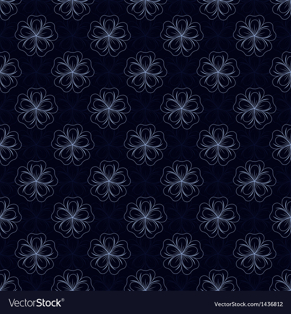 Pattern with flowers vector | Price: 1 Credit (USD $1)