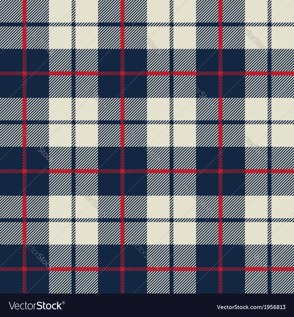 Blue and white fabric texture in a square pattern vector | Price: 1 Credit (USD $1)