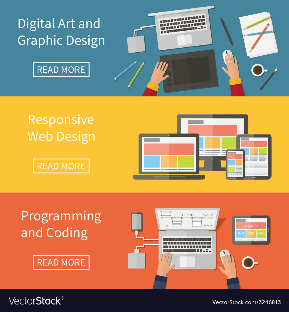 Graphic and web design programming digital art vector | Price: 1 Credit (USD $1)