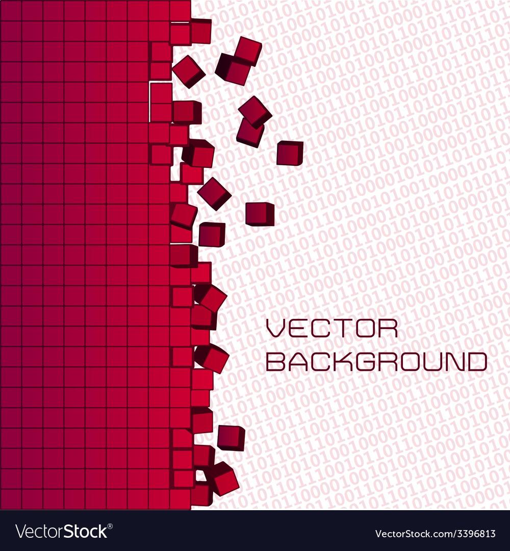 Pixel background vector | Price: 1 Credit (USD $1)