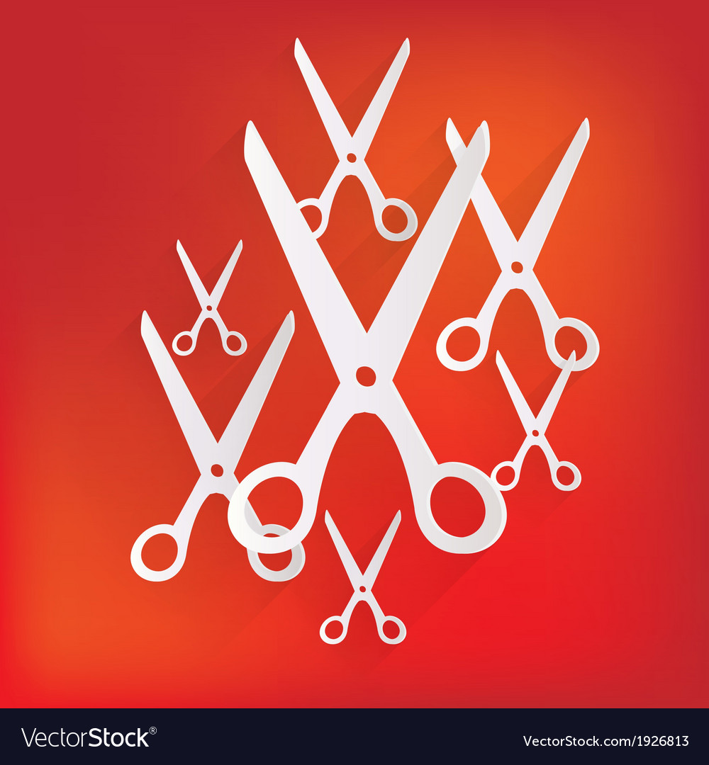 Scissors icon vector | Price: 1 Credit (USD $1)
