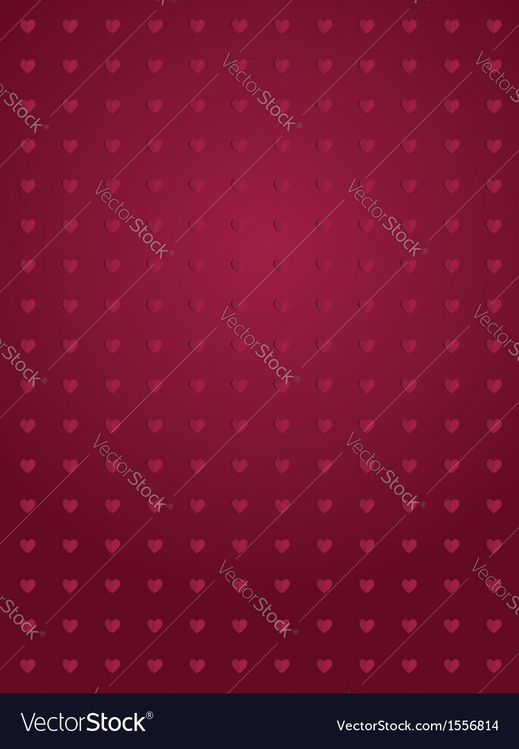 Abstract hearts background vector | Price: 1 Credit (USD $1)