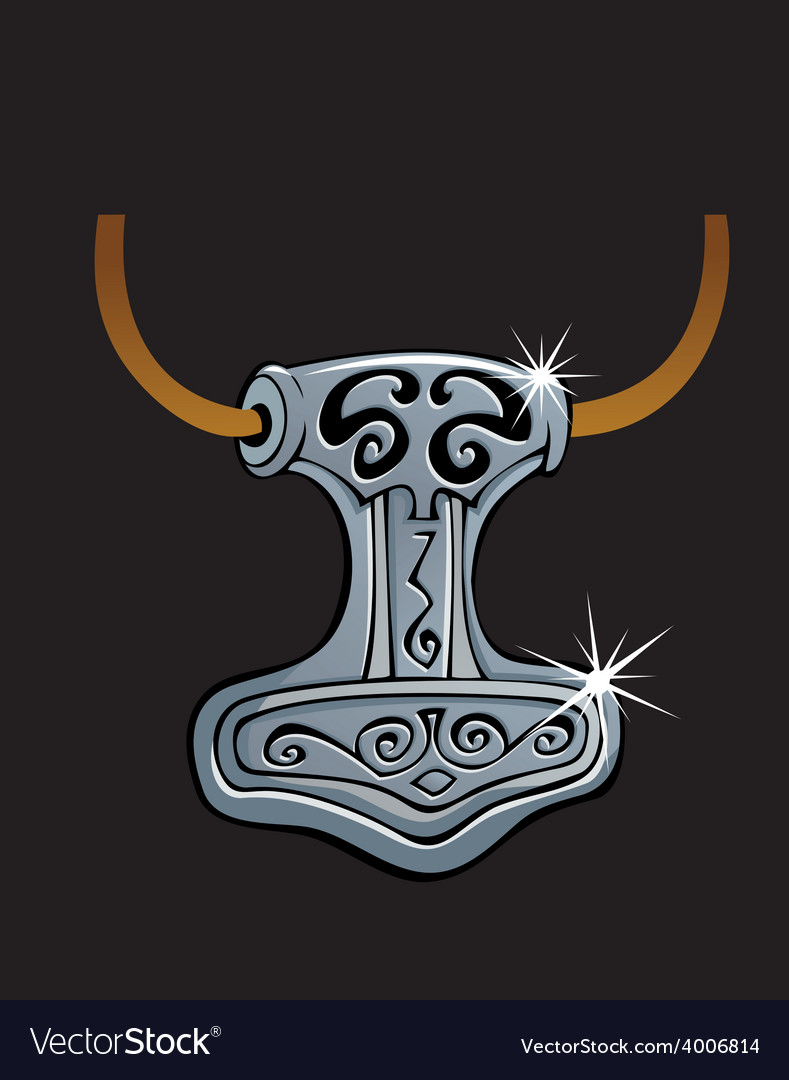Thor hammer vector | Price: 1 Credit (USD $1)