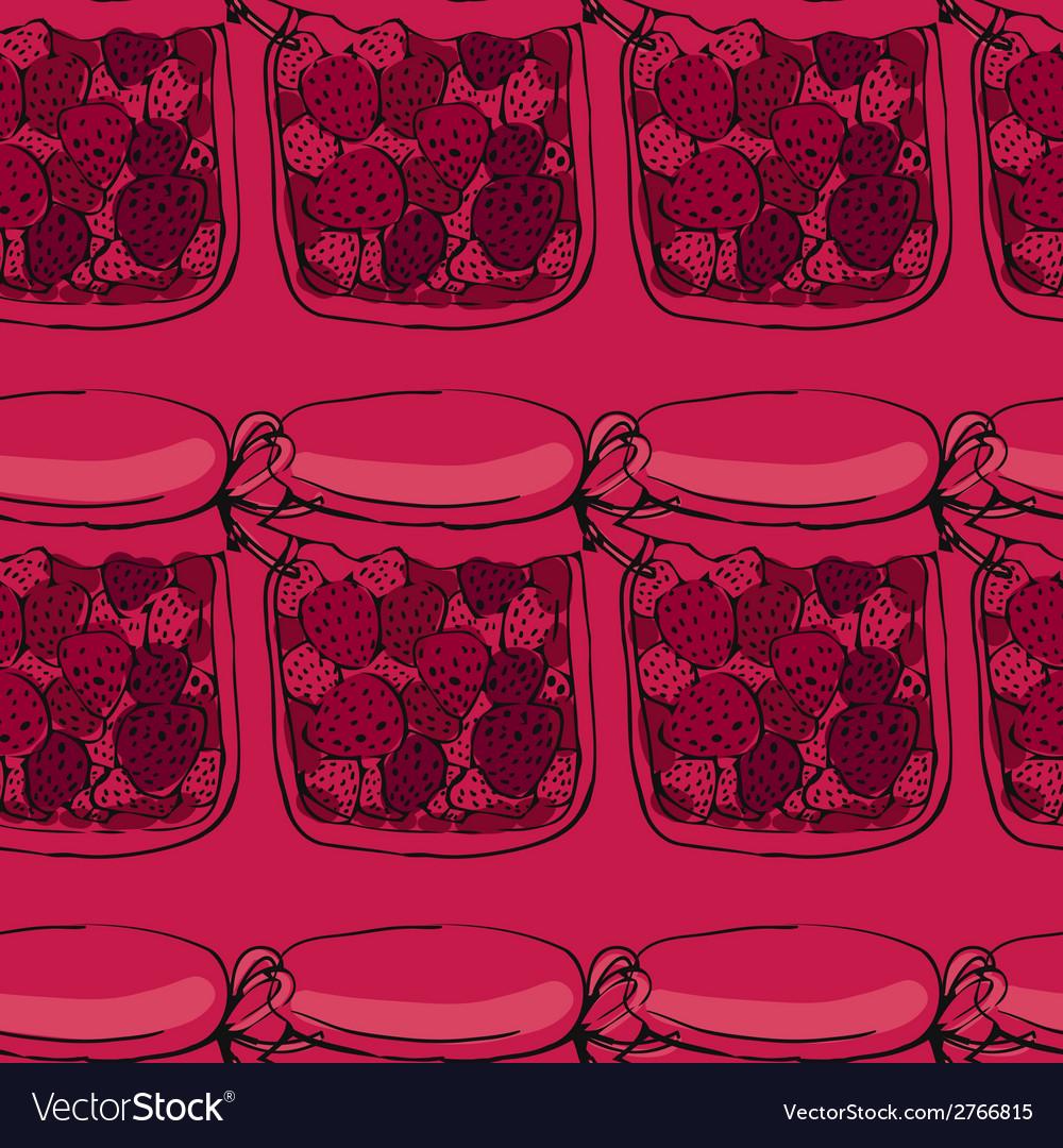 Jars of jam vector | Price: 1 Credit (USD $1)
